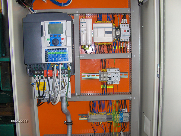 Electrical cabinet of  MPR 01