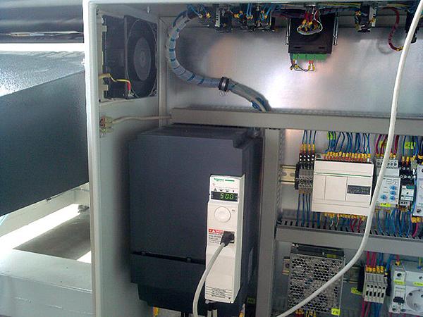 Електро шкаф на МПР 03