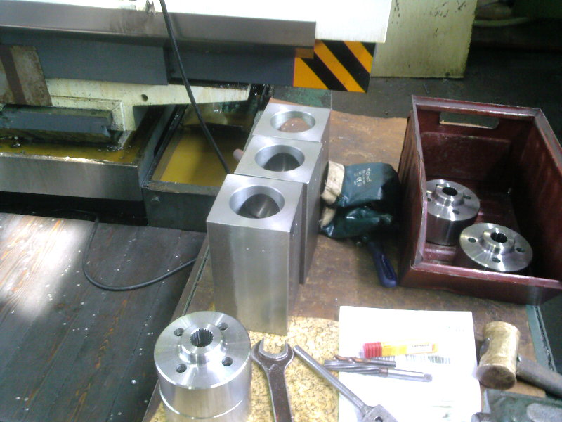 Details made of machining center
