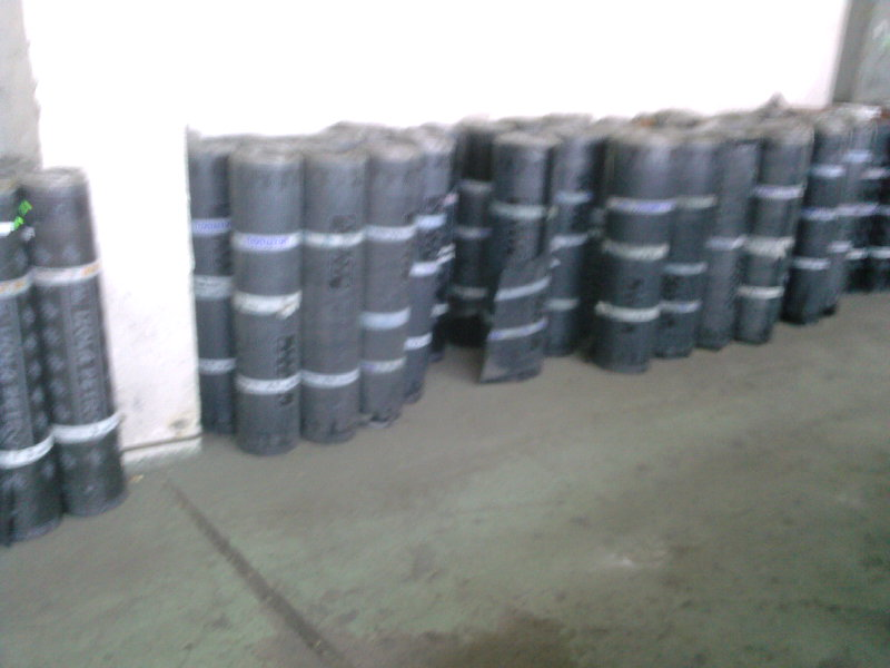 Coiled coils waterproofing material