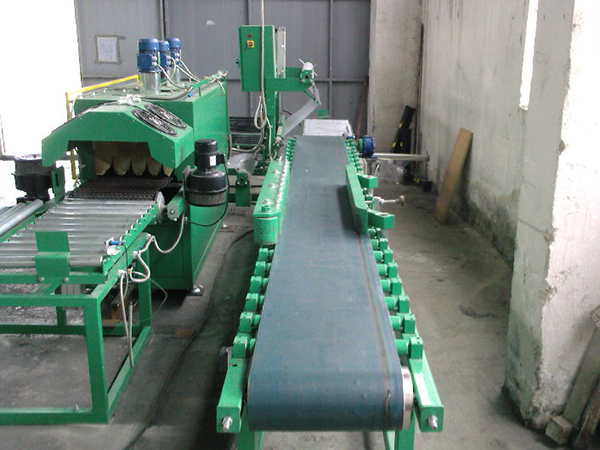 Incoming transport to packaging machine